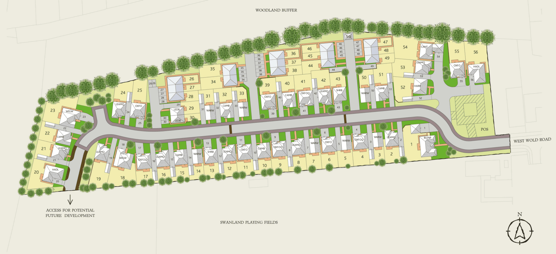 Interactive Site Plan 4576v1 plan
