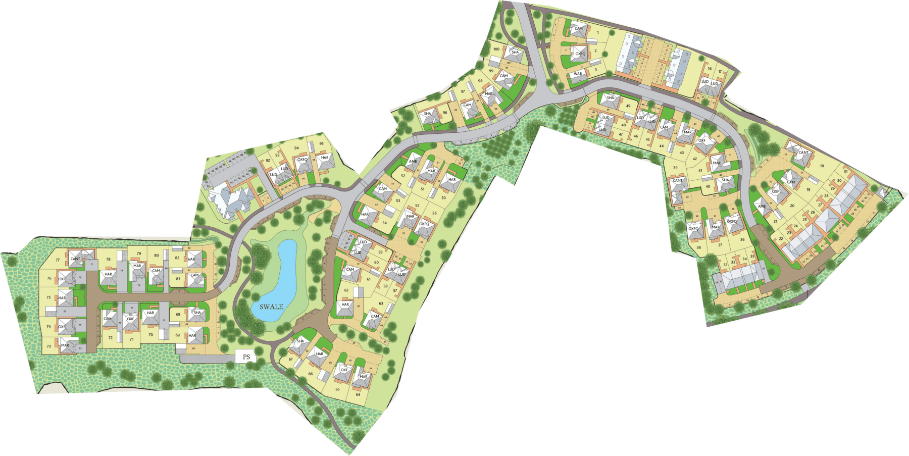 Interactive Site Plan 2576v3 plan