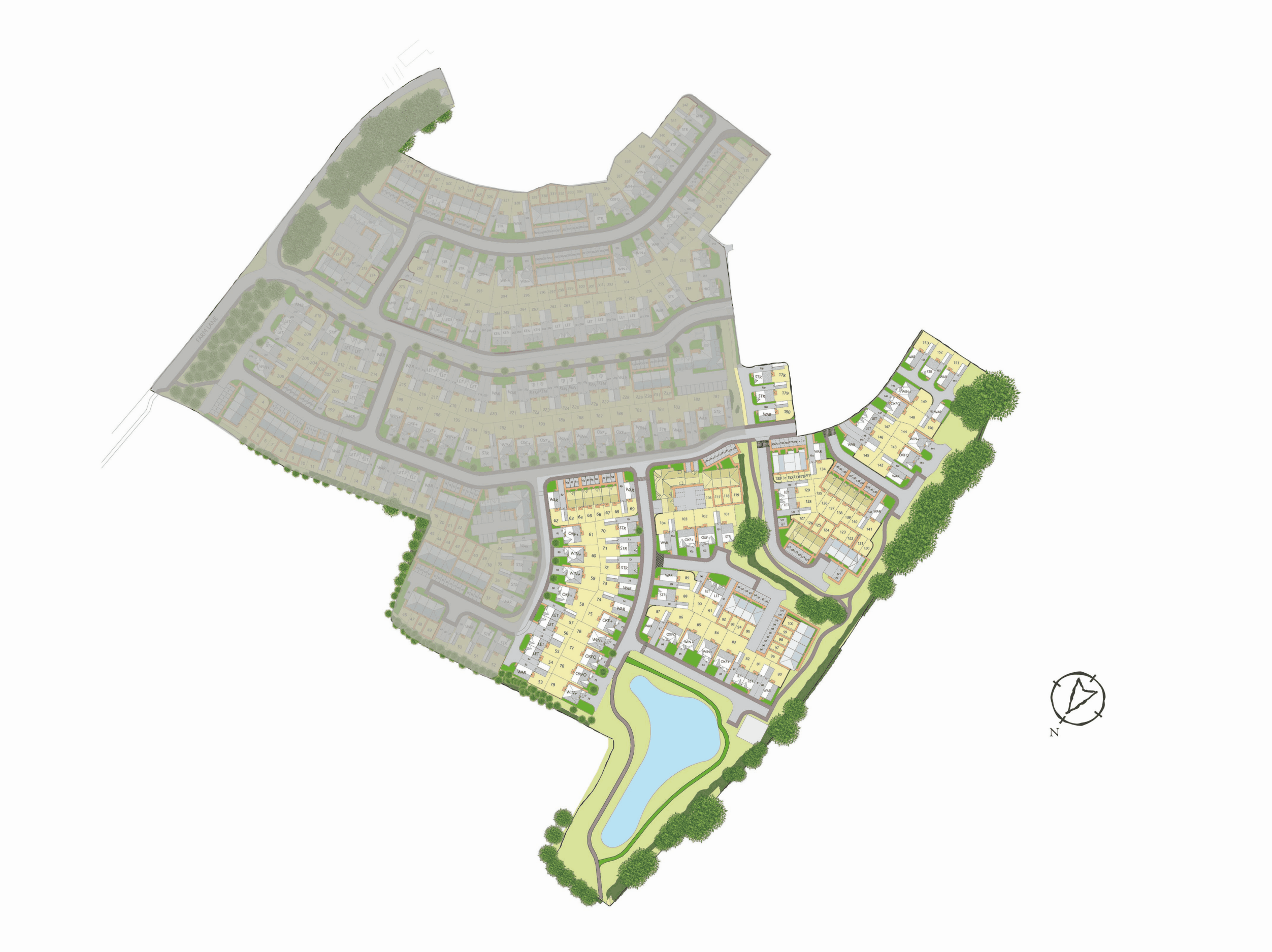 Interactive Site Plan 5360v2 plan