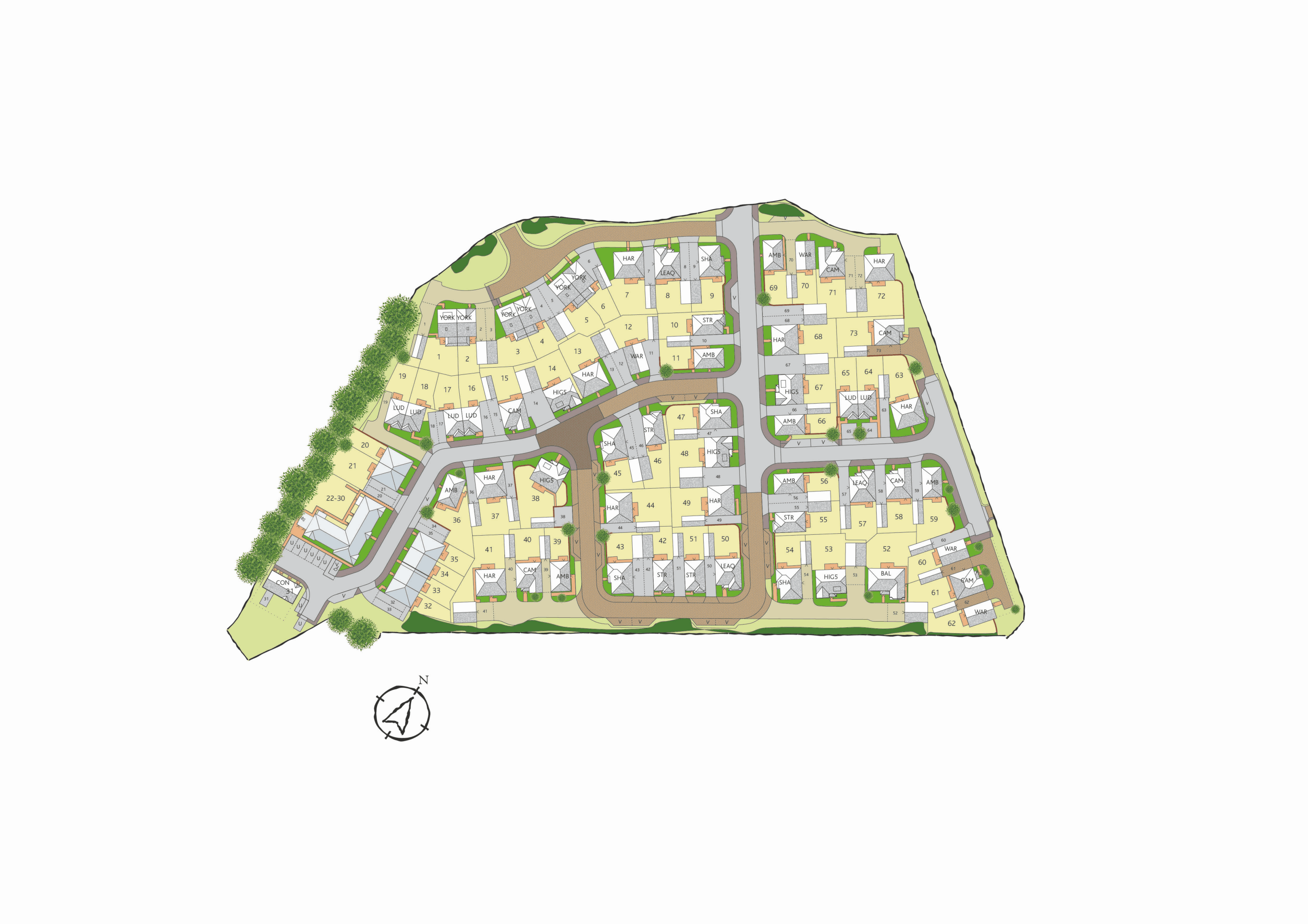 Interactive Site Plan 7471v3 plan